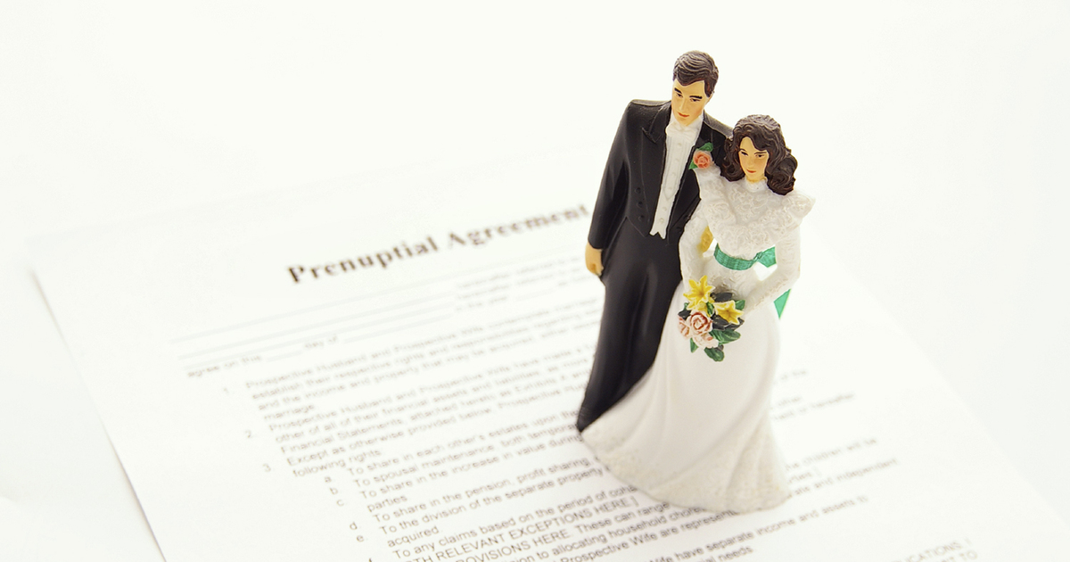 The Pros And Cons Of Signing A Prenup Thereal