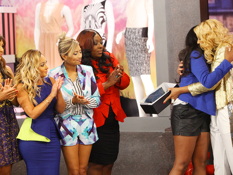 Tamar Gives Her Biggest Fan a Special Gift — Her First Chanel Bag!