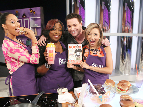Try Rocco DiSpirito's Big Burger Recipe
