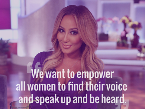 Adrienne on Empowering Women