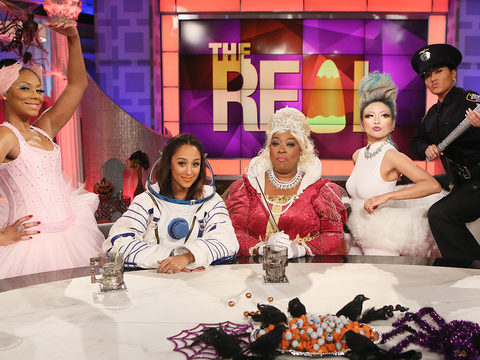 'The Real' Ladies Show Off Their Costumes