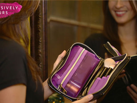 Travel Friendly Makeup Clutch