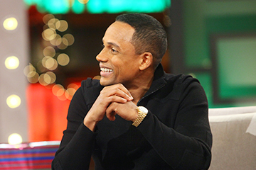 Hill Harper Brings the Laughs