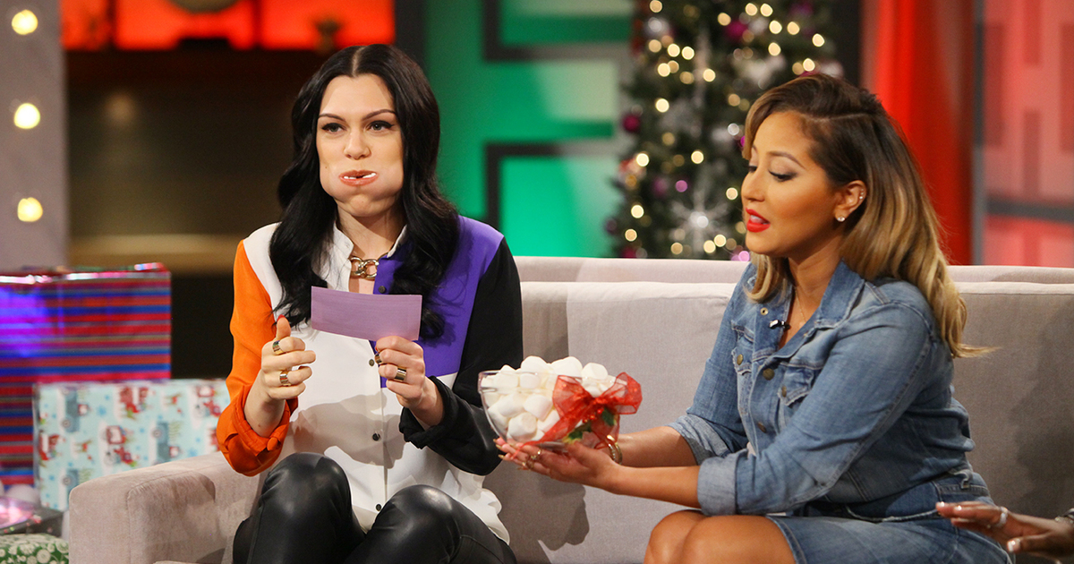 Jessie J Sings with a Mouth Full of Marshmallows! | TheReal.com
