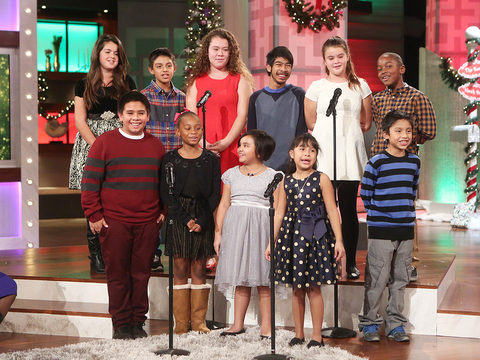 Children's Choir Sings 'We Wish You a Merry Christmas'