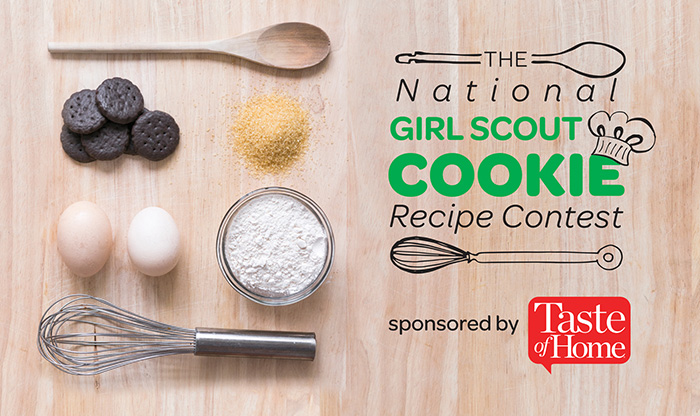 national girl scout cookie recipe contest