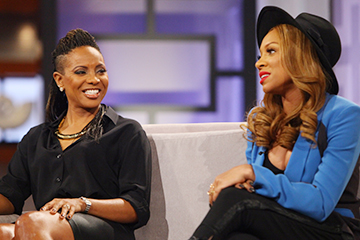 MC Lyte & Lil Mama Hit the Stage