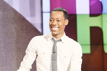 Tyler James Williams Is in the House!