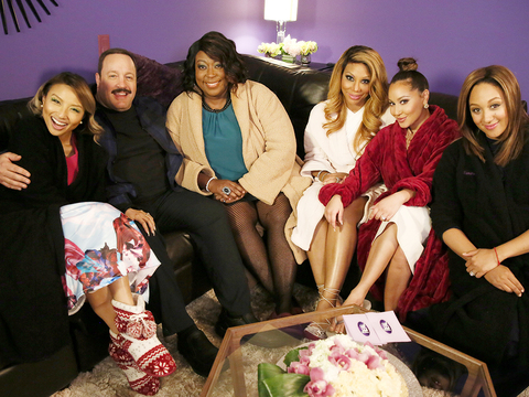 Kevin James on Working with Loni on 'Mall Cop 2'