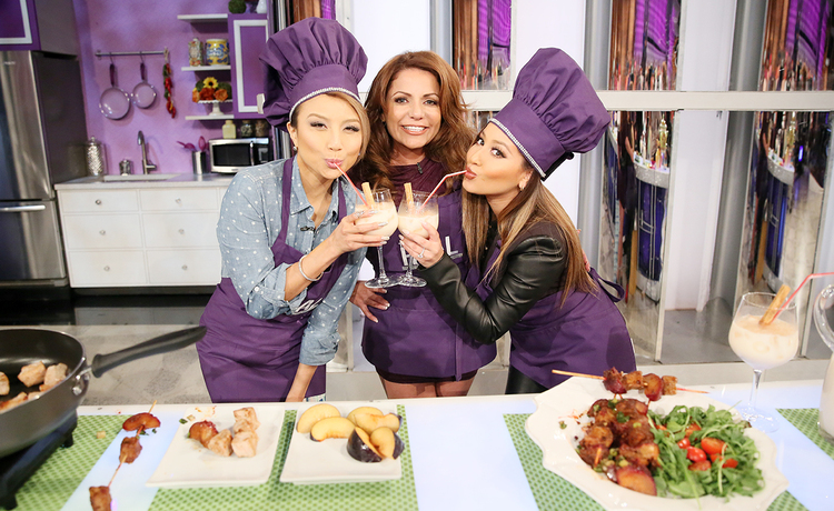 Check Out Chef La La's Pork and Plum Kabobs Recipe!
