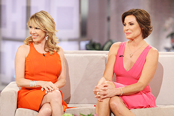 Ramona Singer & Luann de Lesseps Keep It REAL