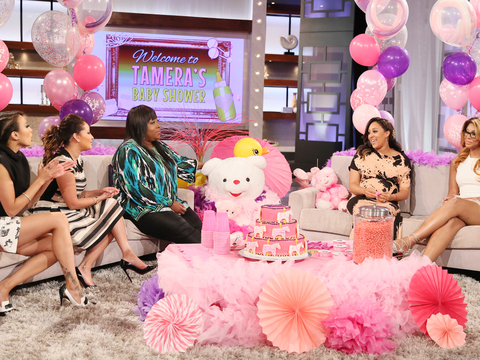 The Hosts Celebrate Tamera's Baby Girl