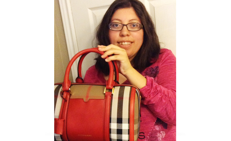 Congratulations to Last Month's Burberry 'Gab Bag' Winner!