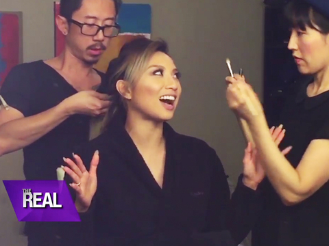 Web Exclusive: Jeannie on Mama Mai's First 'The Real' Appearance