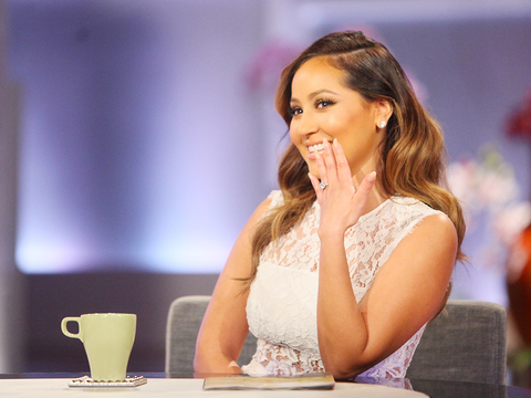 Web Exclusive: Adrienne on Announcing Her Engagement on 'The Real'