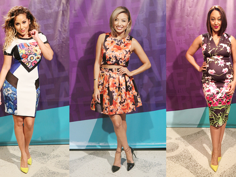 Flirty & Fun in Florals! The Fiercest Flowery Fashion on 'The Real'!