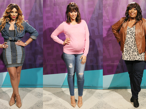 Denim Divas! 16 Ways to Rock Denim Like the Ladies of 'The Real'