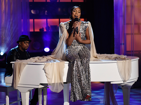 Tamar Hits the Stage with 'King' Performance
