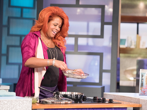 In the Kitchen with Kelis!