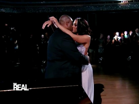Tamar's 'DWTS' Tribute to Hubby Vince