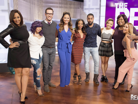 Thursday on 'The Real' — Cast of 'Truth Be Told'!