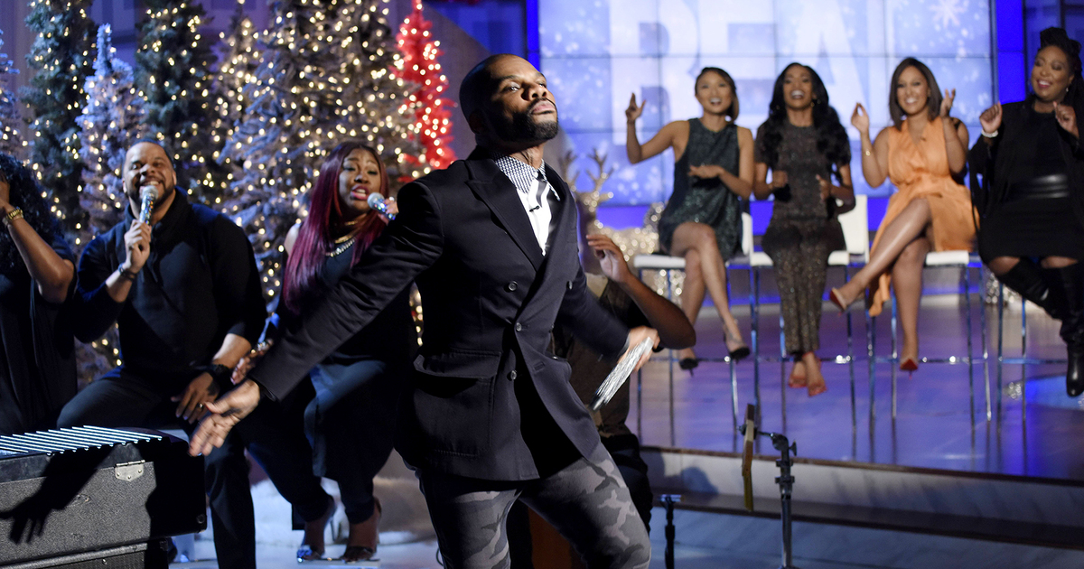 Web Exclusive: Kirk Franklin Takes Us to Church   TheReal.com