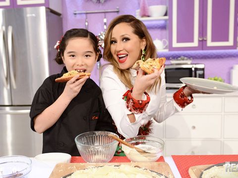 Chef Estie Kung's French Onion Soup Chicken Pizza