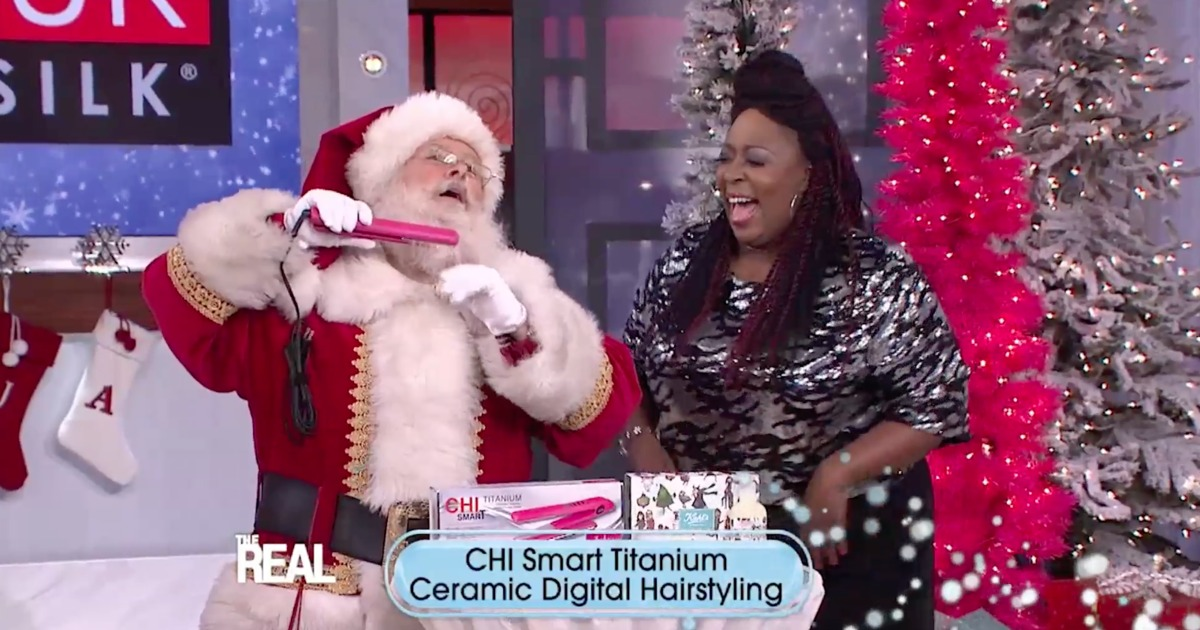 Talk show christmas giveaways
