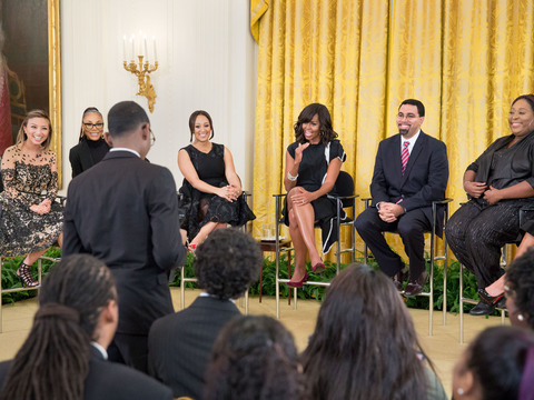 A Sit-Down with FLOTUS & Education Secretary John King