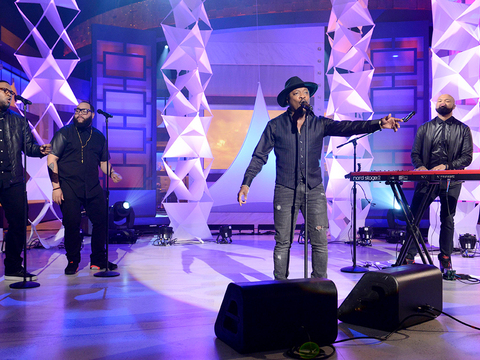 Wednesday on 'The Real': Hangin' with Anthony Hamilton