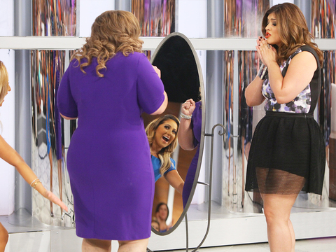 Denise Bidot Gives an Audience Member a Surprise Makeover