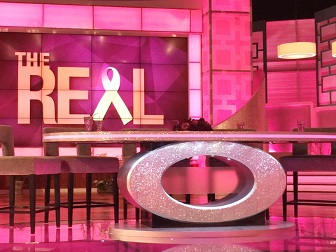 'The Real' Goes Pink for Breast Cancer Awareness