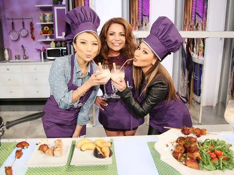 Check Out Chef LaLa's Pork and Plum Kabobs Recipe!