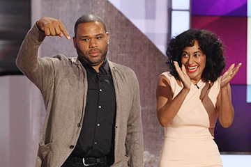 Anthony Anderson & Tracee Ellis Ross Bring the Laughs