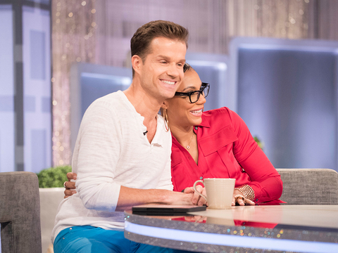 Louis Van Amstel Makes a Surprise Visit to 'The Real'