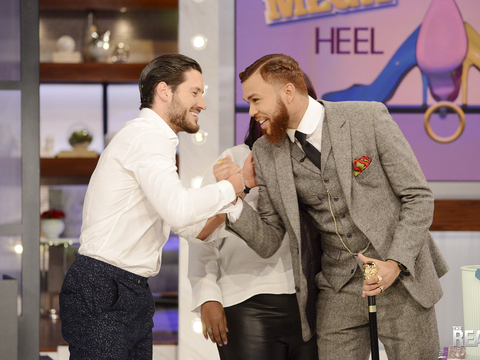 Tuesday on 'The Real' - Jidenna & Guest Co-Host Val Chmerkovskiy!