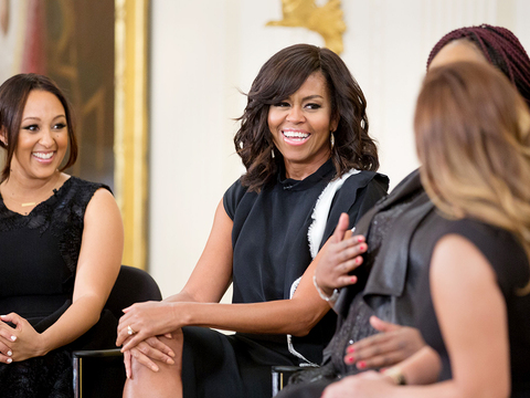 First Lady Michelle Obama Shares Her College Story