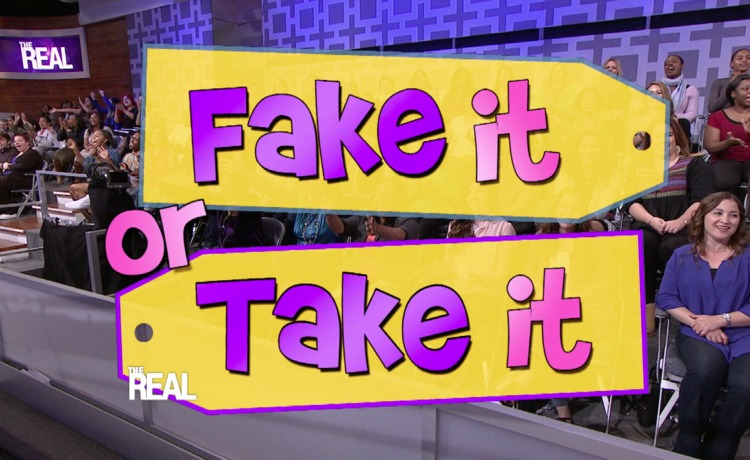 Shop Today's 'Fake It or Take It' Items!