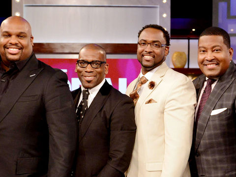 Monday on 'The Real': Introducing The Preachers!