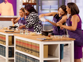 Welcome to 'The Real' Cooking School!