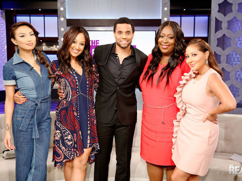 Wednesday on 'The Real': We're Hangin' with Michael Ealy