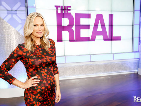 Friday on 'The Real' -- Molly Sims Joins the Fun!