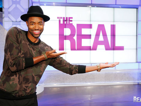 Monday on 'The Real': Jay Ellis Keeps It REAL