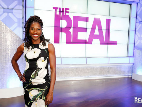 Friday on 'The Real': Keeping It REAL with Rutina Wesley