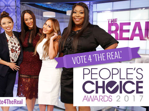 Vote 'The Real' for Favorite Daytime Hosting Team!