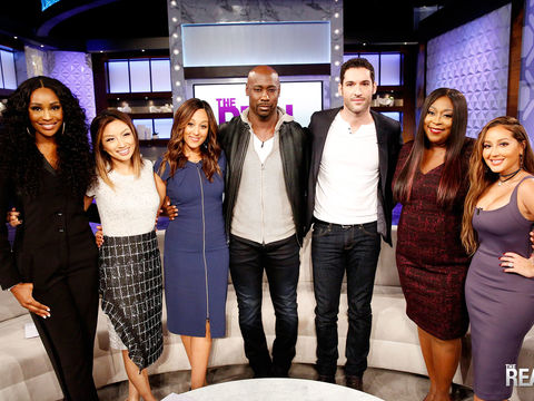 Tuesday on 'The Real': Cynthia Bailey, DB Woodside & Tom Ellis