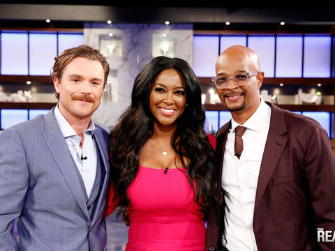 Friday on 'The Real': Kenya Moore, Damon Wayans & Clayne Crawford