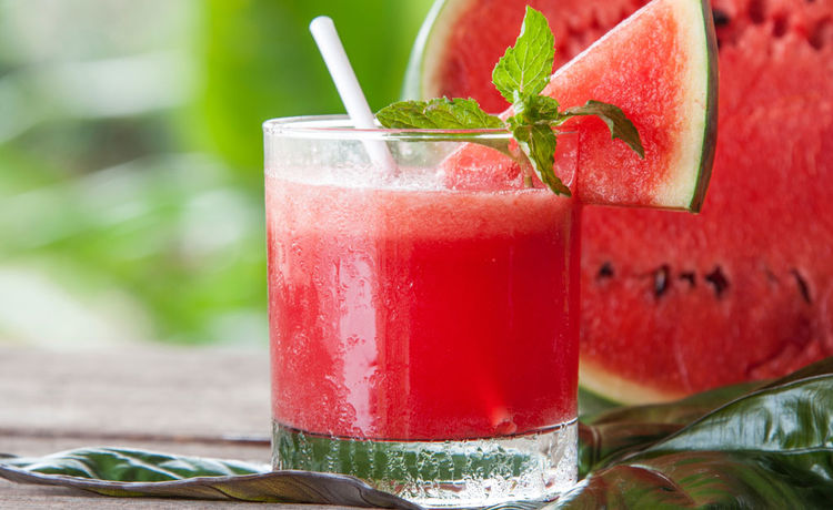 Watermelon Coconut Fizz
