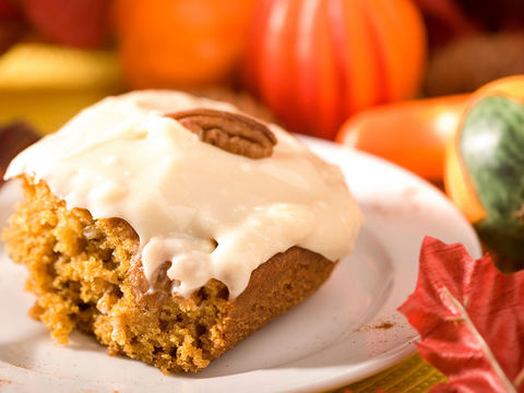 Fluffy Pumpkin Cake