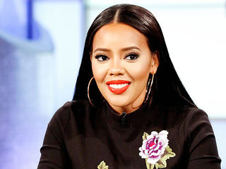 Angela Simmons Co-Hosts & Reveals Her Baby Boy